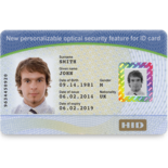 vanGO® cards can be used to create One-2-One™ personalized images for greater protection against counterfeiting IDs.