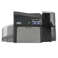 Front of HID® FARGO® DTC4250e ID Card Printer & Encoder di hopper