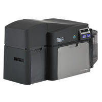 Angled image of HID® FARGO® DTC4250e ID Card Printer & Encoder