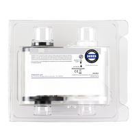 HID FARGO Clear Overlaminiate Whole Clamshell Front